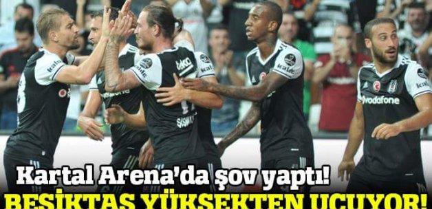 Beşiktaş 3-1 Karabükspor Maç özeti ve golleri