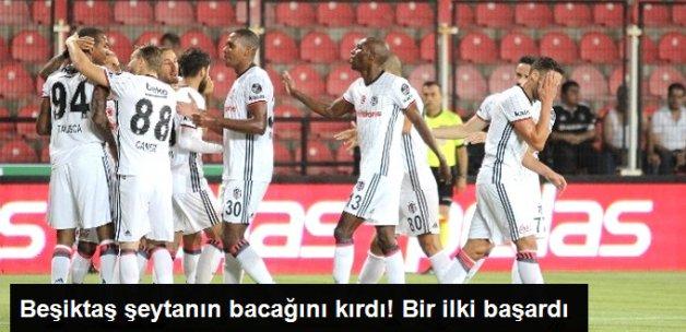 Beşiktaş Deplasmanda Akhisar Belediyespor'u 2-0 Yendi