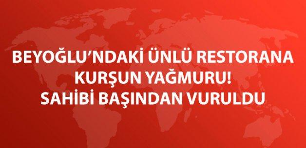 Beyoğlu'nda Restorana Ateş Açıldı: 1'i Ağır, 2 Yaralı