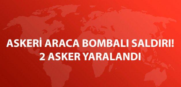Bitlis'te Askeri Araca Bombalı Saldırı: 2 Asker Yaralı