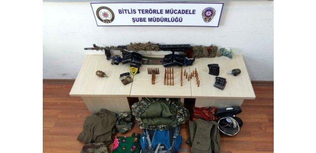 Bitlis'teki terör operasyonunda 3 kişi yakalandı