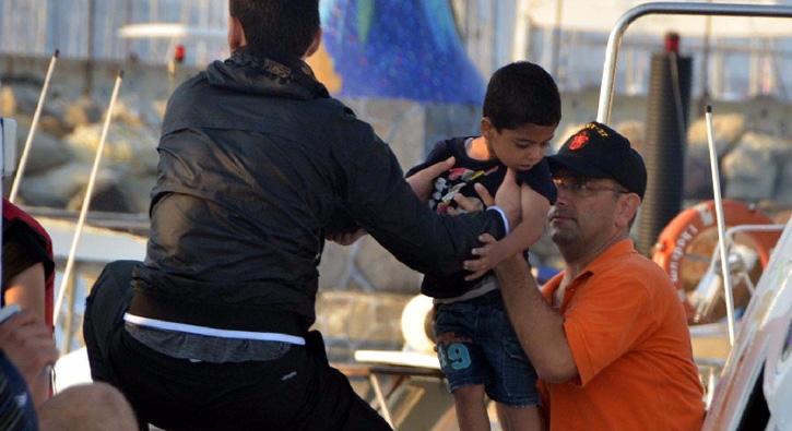 Bodrum'da 62 mülteci yakalandı