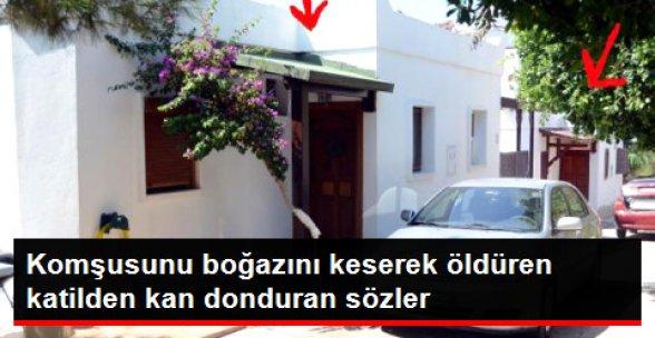 Bodrum'da Tüyler Ürperten Cinayet
