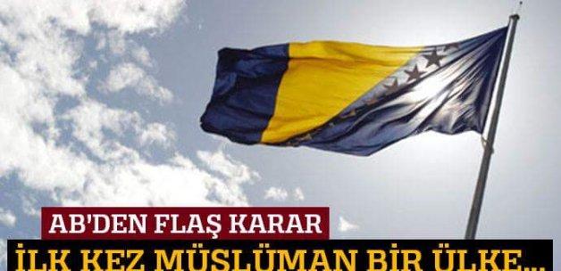 Bosna Hersek'in AB üyeliği başvurusu kabul edildi