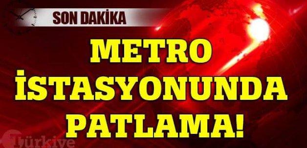 Bursa'da metro istasyonunda trafo patladı