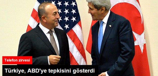 Çavuşoğlu, ABD'li Elçinin Sözlerinden Duyulan Rahatsızlığı Kerry'e İletti