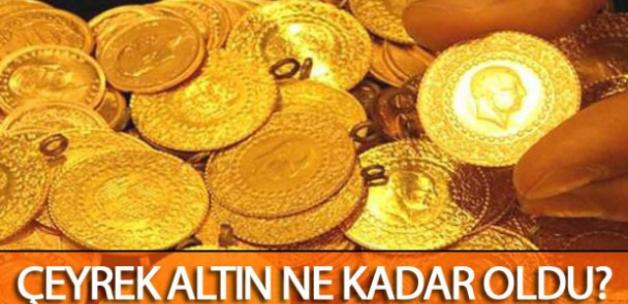 Çeyrek Altın Fiyatları Bugün Ne Kadar Oldu