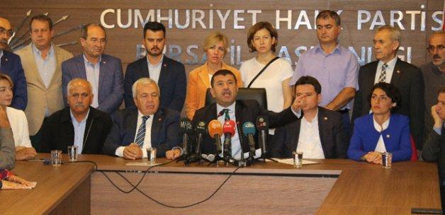 CHP'den MHP'ye sert eleştiri