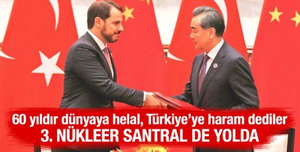 Çin ile Türkiye arasında nükleer işbirliği