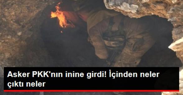 Cudi Dağı'nda 3 PKK'lı Öldürüldü! Asker PKK'nın Mağarasına Girdi