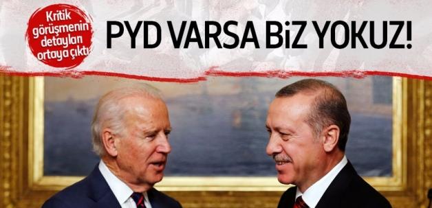 Cumhurbaşkanı Erdoğan-Biden görüşmesinin detayları ortaya çıktı