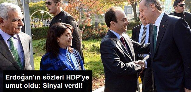 Cumhurbaşkanı'nın Sözleri HDP'ye Umut Oldu: Erdoğan Sinyal Verdi!