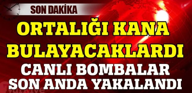 DAEŞ üyesi 2 canlı bomba yakalandı