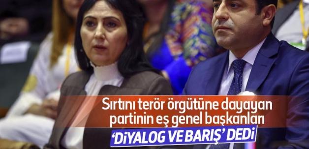 Demirtaş ve Yüksekdağ'dan kutlama mektubu