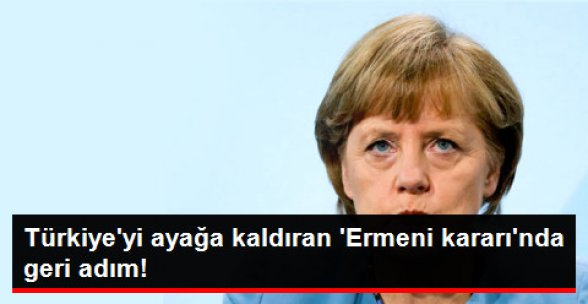Der Spiegel: Alman Hükümeti, Ermeni Soykırımı Kararına Mesafe Koyacak