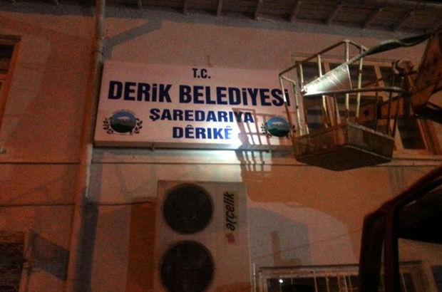Derik Belediyesi'nde Kürtçe tabelalar kaldırıldı iddiasına yanıt