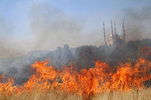 Dicle Üniversitesi'nde yangın çıktı