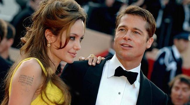 Dünyanın gözde çifti Angelina Jolie ile Brad Pitt boşanıyor