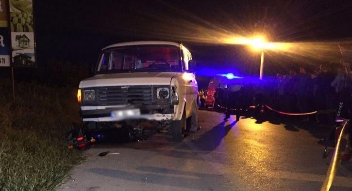 Düzce'de otomobille motosiklet çarpıştı