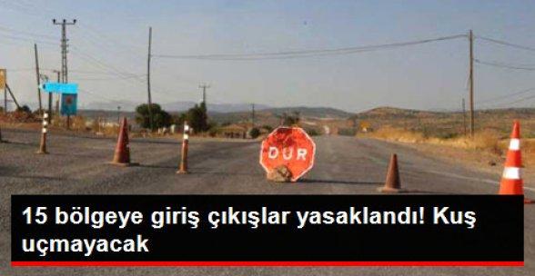 Elazığ'da 15 Bölge, 'Özel Güvenlik Bölgesi' İlan Edildi