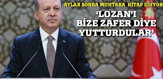 Erdoğan 23. Muhtarlar buluşmasında konuşuyor