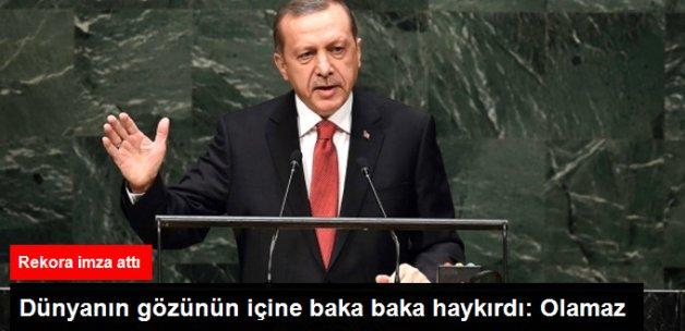 Erdoğan: 5 Ülkenin Ağzına Dünyayı Mahkum Edemezsiniz