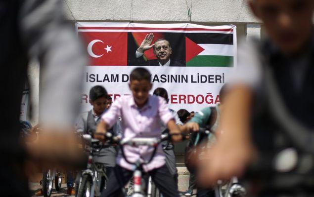 Erdoğan'dan Gazzeli çocuklara bisiklet hediyesi