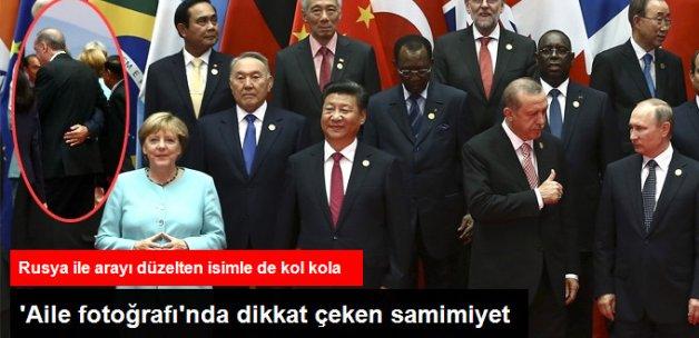 Erdoğan G20 Zirvesi Aile Fotoğrafında Şi Cinping ve Putin'le Yan Yana Yer Aldı