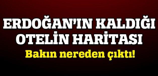 Erdoğan'ın tatilini yaptığı otelin haritası albayın evinden çıktı
