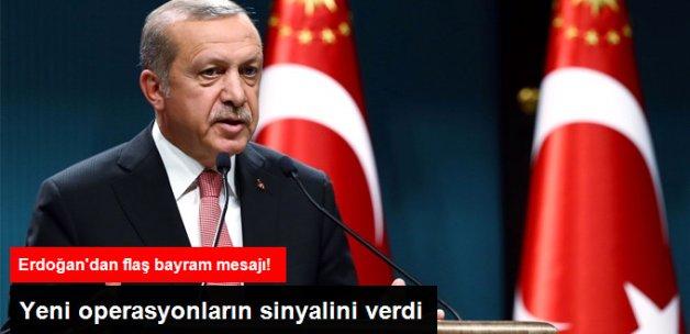Erdoğan: IŞİD'i Bitirmek Boynumuzun Borcu, Fırat Kalkanı Harekatı İlk Adım