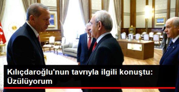 Erdoğan: Kılıçdaroğlu'nun Tavrına Üzülüyorum!