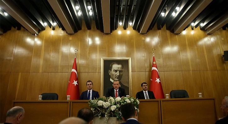 Erdoğan, ÖSO'nun ABD askerlerini kovmasıyla ilgili açıklamada bulundu