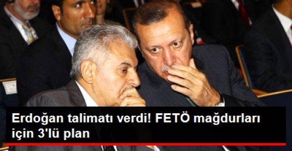Erdoğan Talimatı Verdi! FETÖ Soruşturmasında Mağdur Olanlara 3'lü Plan