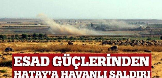 Esad kontrolündeki bölgeden Yayladağı'na top mermisi atıldı