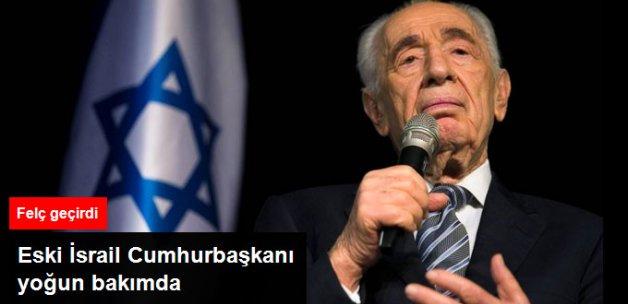 Eski İsrail Cumhurbaşkanı Felç Geçirdi