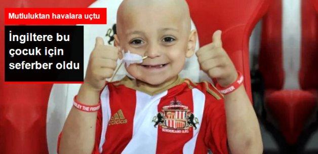 Everton, 5 Yaşındaki Kanserli Çocuk Bradley Lowery için Yardımda Bulundu