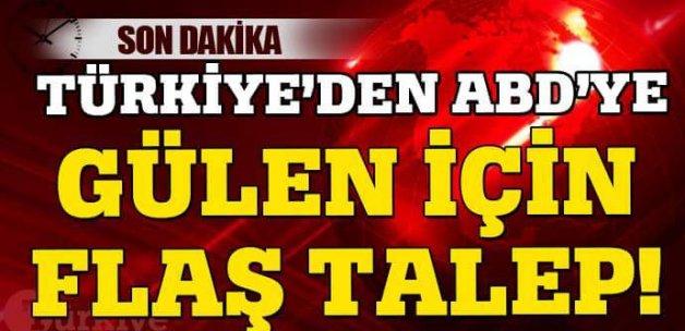 FETÖ elebaşı Gülen'in tutuklanması talep edildi1