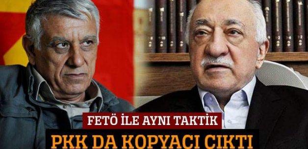 FETÖ ile aynı taktik! PKK da kopyacı çıktı