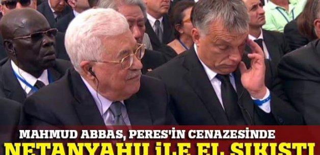 Filistin Devlet Baskanı, Şimon Peres'in cenaze törenine katıldı