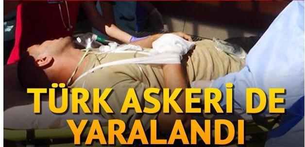 Fırat Kalkanı operasyonunda bir asker ve 6 ÖSO üyesi yaralandı