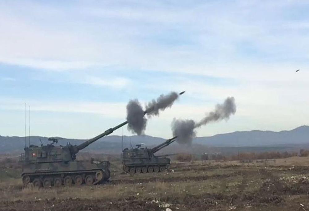 Flaş: TSK: 69 hedefe 210 atış yapıldı ANKARA