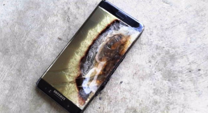 Galaxy Note 7, 6 yaşındaki çocuğun elinde patladı