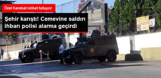 Gaziantep'te Cemevi'ne Bombalı Saldırı İhbarı Polisi Alarma Geçirdi