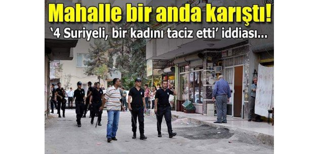 Gaziantep'te Suriyeli gerginliği: 4 yaralı