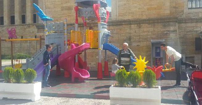 Genelkurmay'dan Anıtkabir'e yapılan oyun parkıyla ilgili açıklama