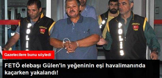 Gülen'in Yeğeninin Eşi ve Adil Öksüz'ün Hocası Paris'e Kaçarken Yakalandı
