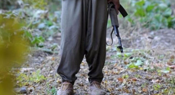 Hakkari'de bir PKK'lı terörist teslim oldu
