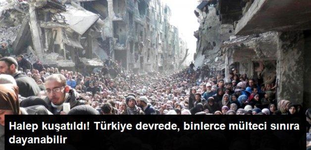 Halep Yeniden Kuşatıldı! Sivillerin Tahliyesi İçin Türkiye Devreye Girdi
