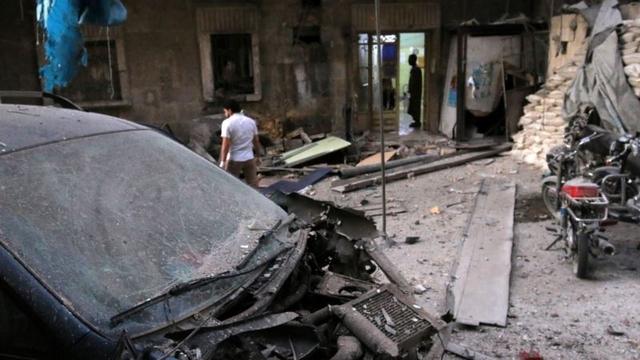 Halep'in Doğusunda Sadece Altı Sağlık Tesisi Kaldı
