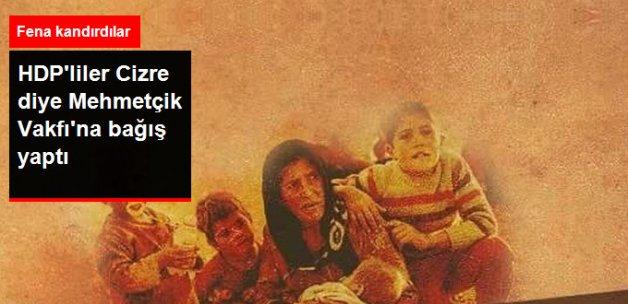 HDP'lileri Fena Kandırdılar! Mehmetçik Vakfı'na Yardım Ettiler